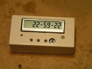 Copyright (c) Sergey B. Voinov. LCD clock.